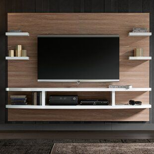 Tv Stands Entertainment Centers You Ll Love In 2020 Wayfair Wall Tv Unit Design Tv Room Design Living Room Tv Unit Designs