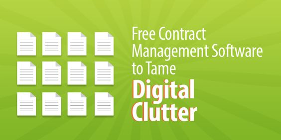 4 Free Contract Management Software To Tame Digital Clutter - what is the concept of free contract