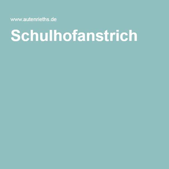 Schulhofanstrich