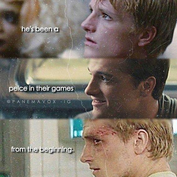 The Hunger Games Igrzyska Śmierci Catching Fire W Pierścieniu Ognia Mockingjay Kosogłos Peeta