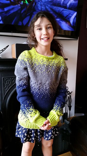 Ravelry: Project Gallery for Pixelated Pullover pattern by Jennifer Beaumont