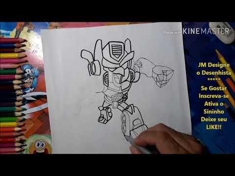 Como Desenhar Angry Birds Transformers Passo A Passo Jmdesign
