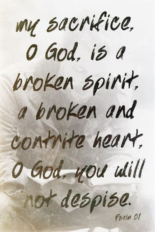 Image result for God loves a contrite and humble spirit