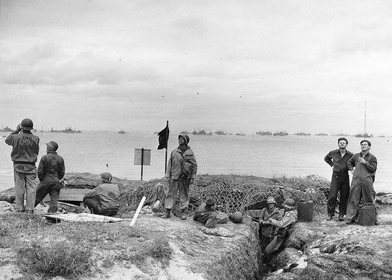 Utah Beach, june 6, 1944: U.S. Navy Beach Battalion ...