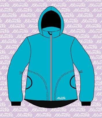 Softshellová bunda-tyrkysová 30/15 + YKK zip