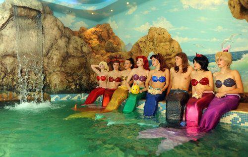triton and his seven daughters?