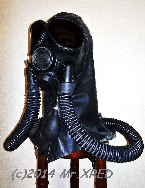 Fart fetish gas mask