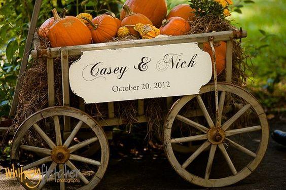 pumpkins patch  Pumpkins wedding   Zucche a nozze http://theproposalwedding.blogspot.it/ #autumn #autunno #fall #wedding #matrimonio
