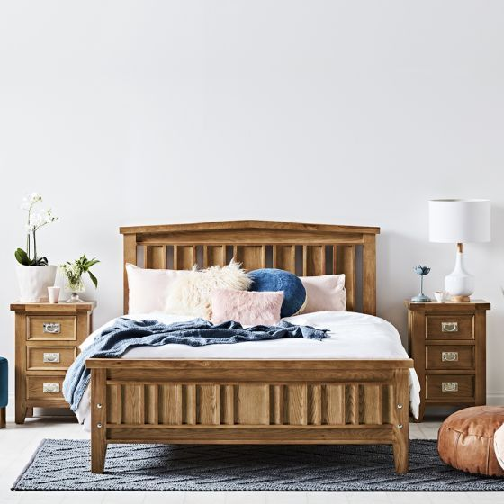 Queen Beds, Queen Bed And Bedside Tables