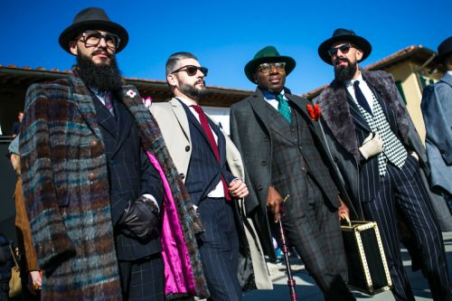 BEST OF STREET STYLE AT PITTI IMMAGINE UOMO FW16: DAY 1