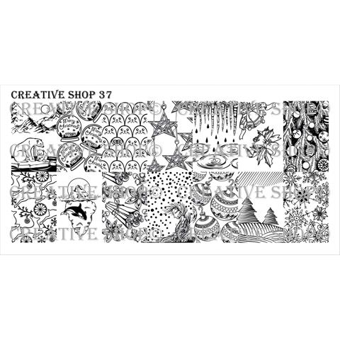 Creative Shop- Stamping Plate- 37