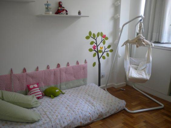 Quarto sem berço Biofuton Quarto Montessori Quarto Montessoriano  Quarto Mon