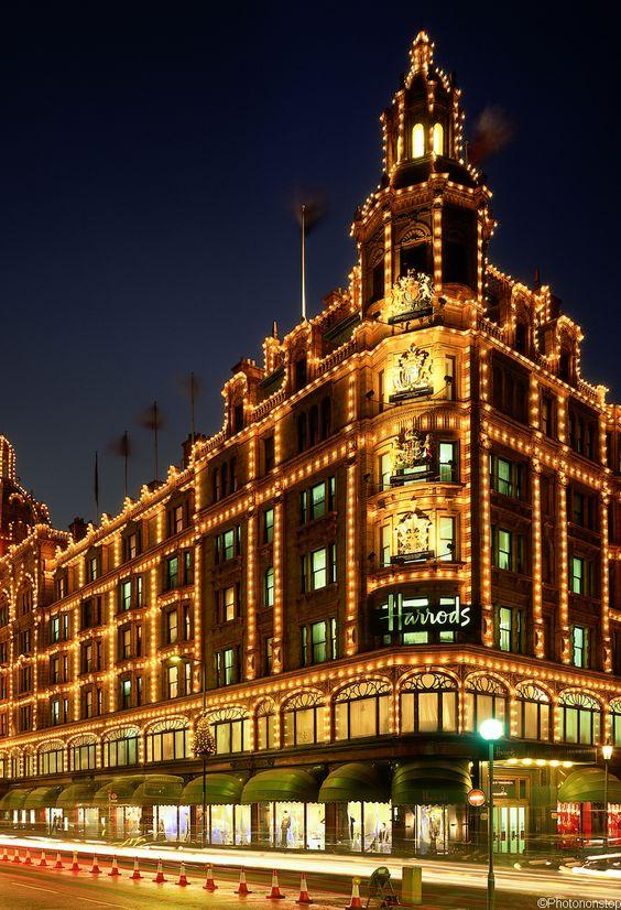Londres capitale de la mode : So chic au magasin Harrods, Londres (Harrods, London, UK)