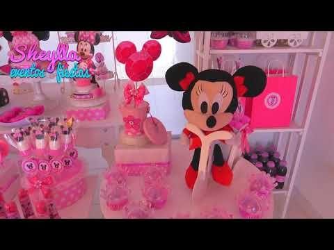 Minnie Coqueta Rosada Minnie Mouse Minnie Boutique Decoración Para Fiesta De Niñas Youtube Minnie Minnie Mouse Fiesta