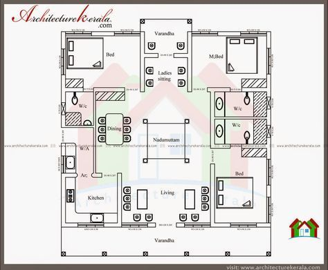 Traditional House Plans Kerala Traditional Decor Indian House Plans Model House Plan Kerala Traditional House