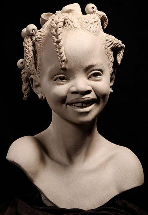 Умелых рук застывшее творение. Philippe Faraut и его портретные скульптуры из глины - Ярмарка Мастеров - ручная работа, handmade