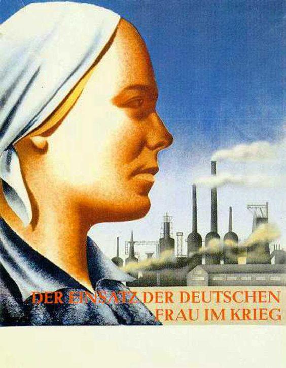 1941 Der Einsatz der deutschen Frau im Krieg