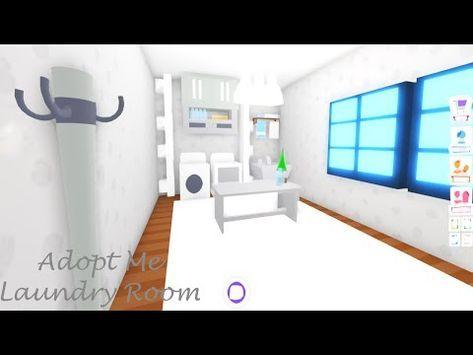 Laundry Room Build Adopt Me Build Hacks Youtube In 2020 Cute Bathroom Ideas My Home Design Cute Room Ideas