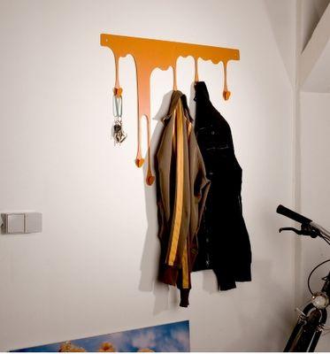 Paint Drip Coat Rack