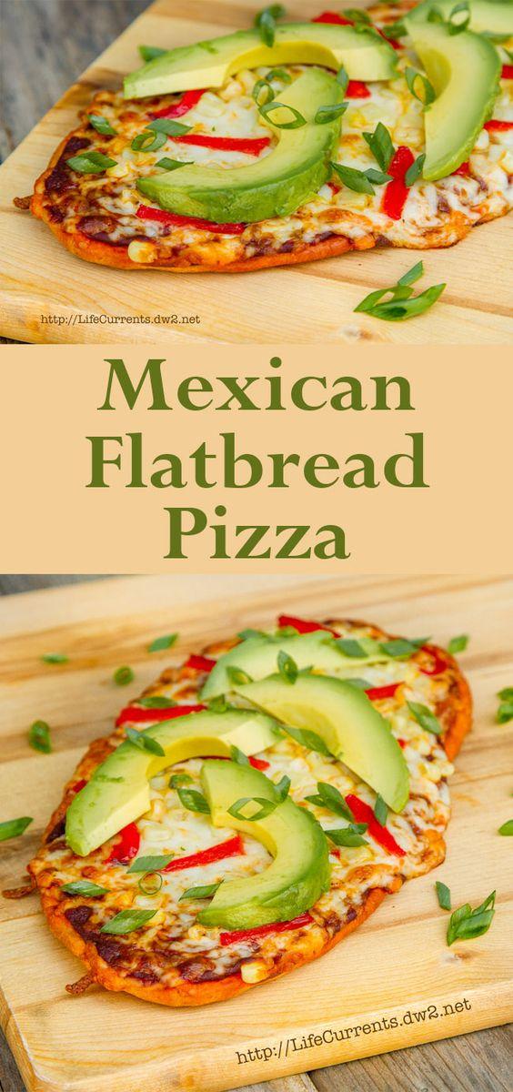 Mexican Flatbread Pizza | Pinterest | Pizza, Flatbread pizza and ...