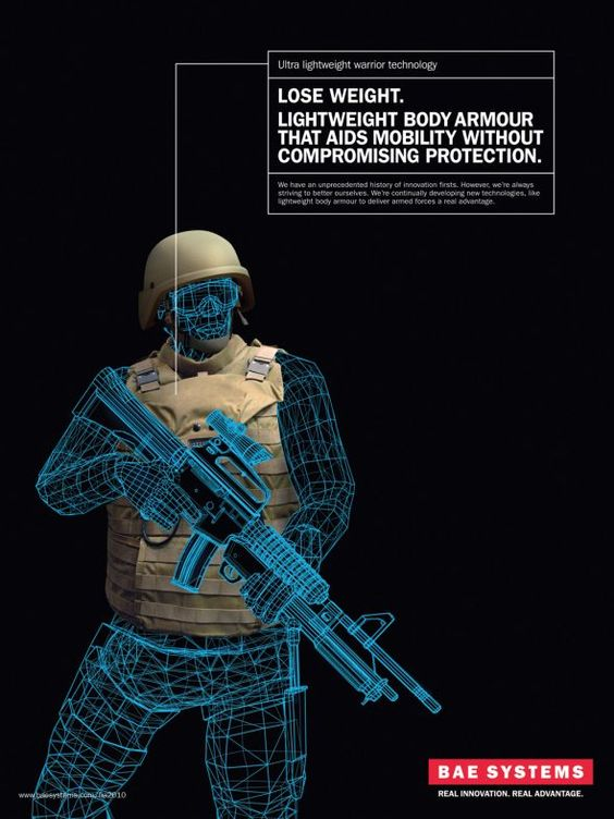 BAE Systems: Body armour | Ads of the World™