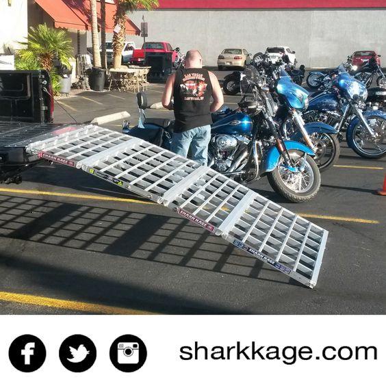 loading ramp shark kage motorcycles