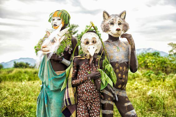 エチオピアの民族衣装