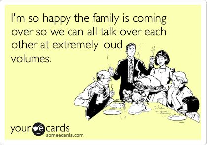 That's so my family