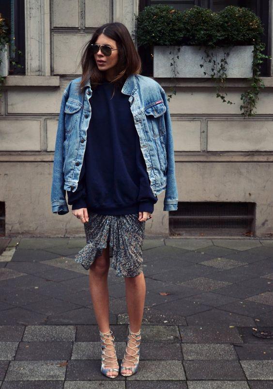 jaqueta jeans: