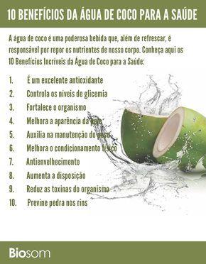 10 Beneficios Incriveis Da Agua De Coco Para A Saude Beneficios