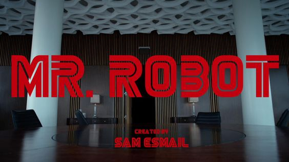 Mr. Robot title panel #1 - The corporate headquarters