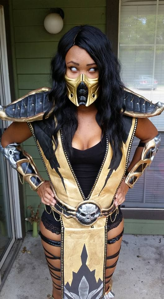 Character: Scorpion | Cosplayer: Brittany Renee Wheeler | Series: MORTAL KOMBAT: