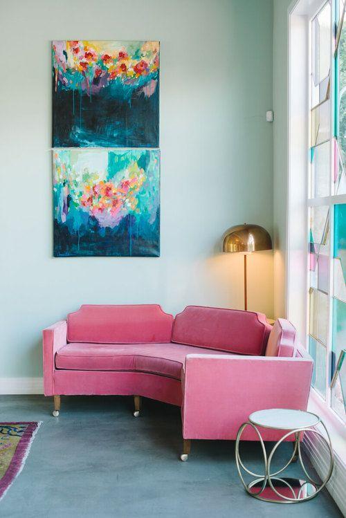 Amira Rahim for the Fig House, LA. Photography by Krista Mason.