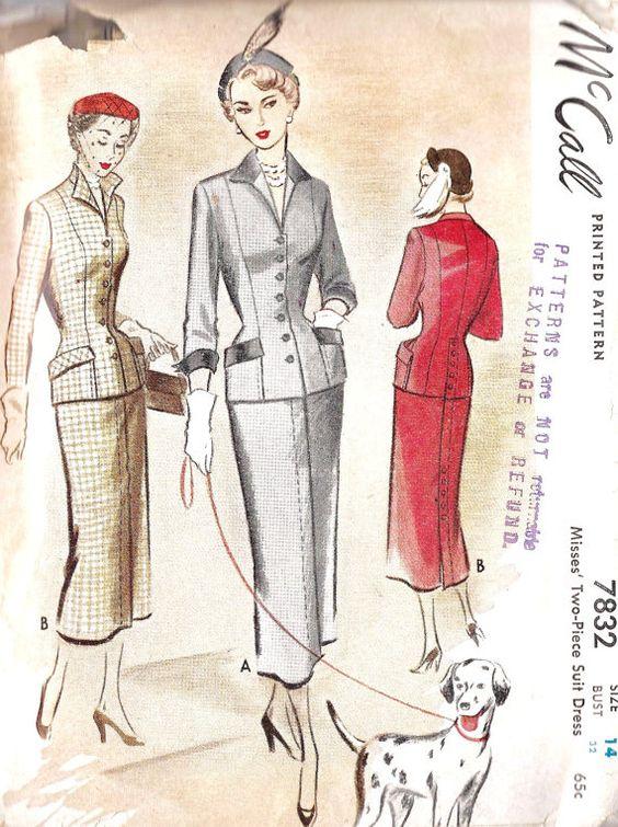 1940s Misses Suit