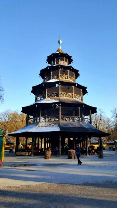 Chinesischer Turm în München, Bayern