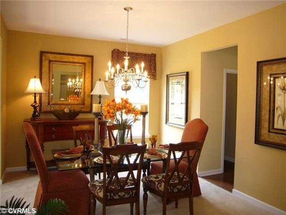 Elegant dining room #ChesterfieldVARealEstate