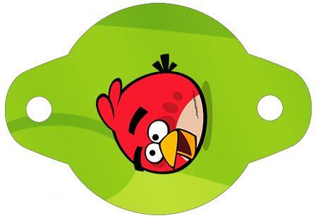 Enfeite Canudinho Angry Birds