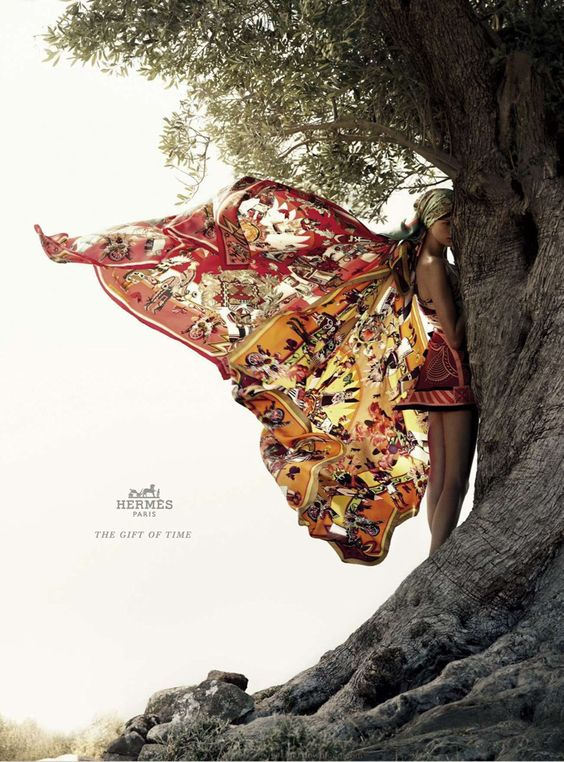Bette Franke for Hermès  - like a glorious butterfly :)