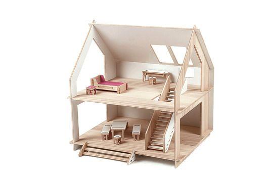 Domek I - domek dla lalek
