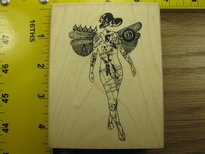 very unusual rubber stamp