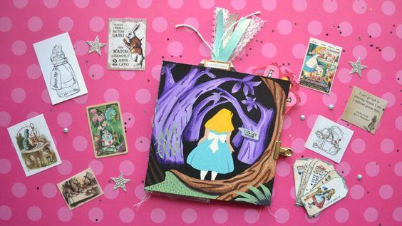 Alice in Wonderland Flipbook Share - Little Hot Tamale