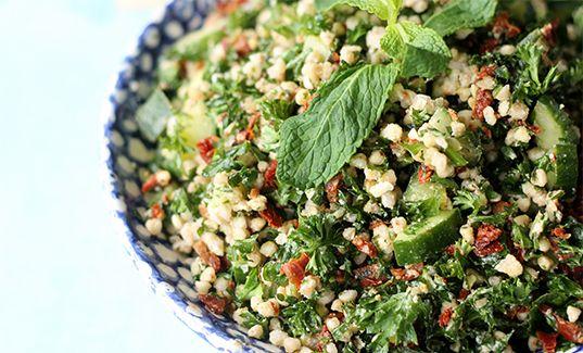 Buckwheat Tahini Tabbouleh #recipe #tweakandeat | Delicious Veg ...