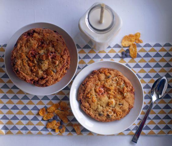 Cornflake Crunch Cookies - USA kulinarisch