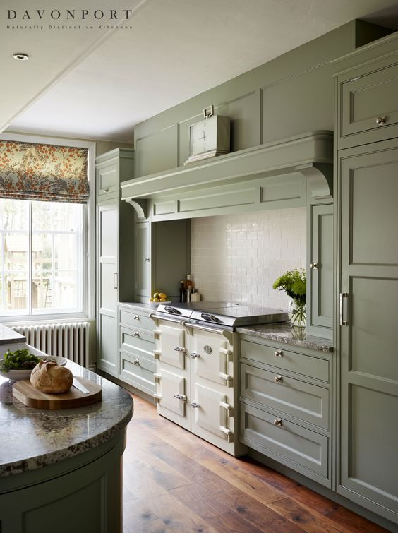 Modern Country Kitchen with Aga