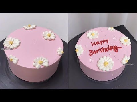 Easy Birthday Cake Shorts Youtube In 2021 Simple Birthday Cake Cake Birthday Cake