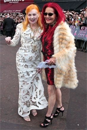 When I get older: Vivienne Westwood & Patricia Field.: