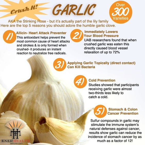 Garlic is great for so many things!