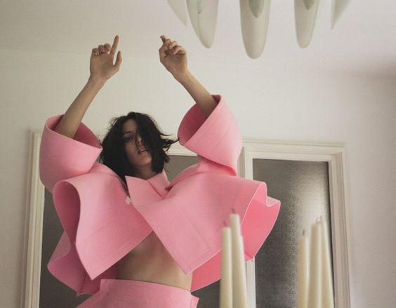 Melancholia x Ruby Aldridge by Lina Scheynius @ Vogue Turkey November 2012 #editorial