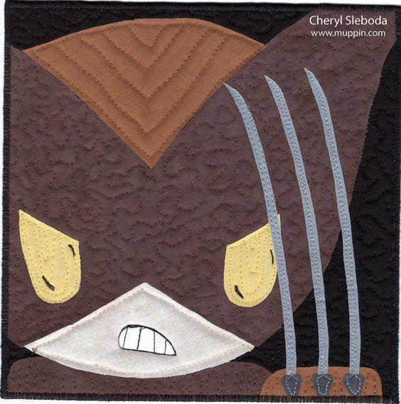 Wolverine quilt: