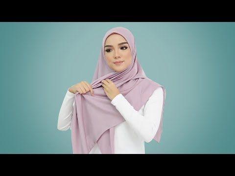 17 Tutorial Hijab Segi Empat Terbaru Paling Simple Cantik Anggun Kekinian Youtube Simpul Pita Bentuk Wajah Hijab